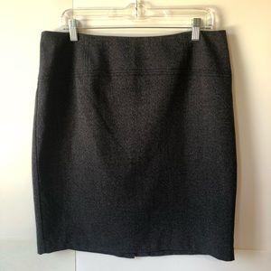Apt 9 dark gray skirt women's size 14